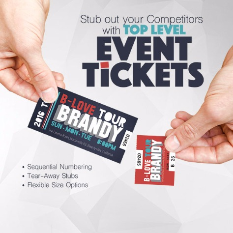 ticket printing event ticket printing raffle ticket printing ireland